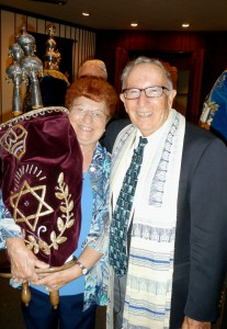 Rabbi Art Abrams and Claire Abrams
